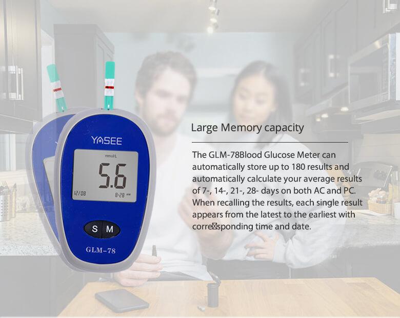 GLM-78-Blood-Glucose-Meter